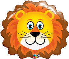 Lovable Lion Super Shape Foil Balloon